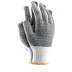 Rękawice ochronne z dwustronnym nakropieniem