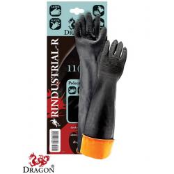 Rękawice ochronne gumowe z przedłużonym mankietem