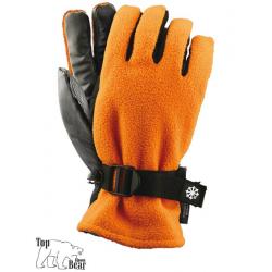 Wodoodporne rękawice ochronne ocieplane z polaru