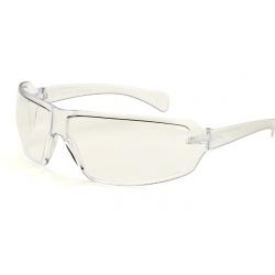 Okulary ochronne przeciwodpryskowe przezroczyste super lekkie.