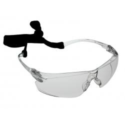 Okulary medyczne ochronne nieparujące +SZNURECZEK 505U