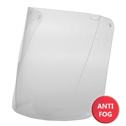 Osłona twarzy Anti-fog - przezroczysta poliwęglanowa