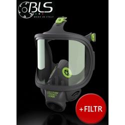 Maska przeciwgazowa 3150V (szklany wizjer) + filtr ABEK2 P3 serii 400