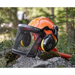 Zestaw ochronny do pracy w lesie dla leśników